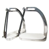 Centaur Stainless Steel Fillis Peacock Stirrup Irons