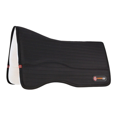 Toklat T3 Matrix Performance Saddle Pad Woolback with Extreme Pro-Impact Inserts