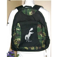 Ozark Camo Bucking Horse Backpacks