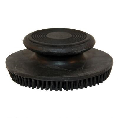 Round Soft Rubber Curry Combs