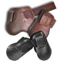 Tekna Fancy Stitched Hind Fetlock Horse Boots
