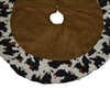 Cowhide Border Tree Skirts