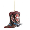 Lone Star Boot Ornaments