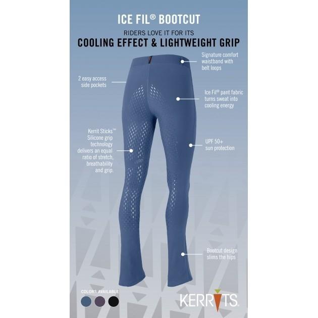 b531fc5a596557 Kerrits Ice Fil Bootcut Tights. TALL- CLEARANCE - LAST ONES