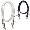 Double Diamond Tree Line Roping Reins - 8 1/2 Feet -white