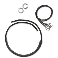 Myler Bits Noseband Kits - Leather