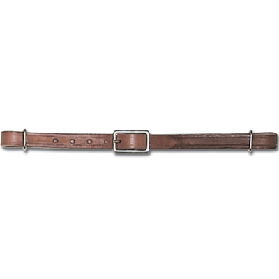 Myler Bits Adjustable Leather Curb Straps