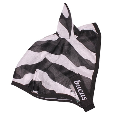 Bucas Zebra Buzz Off Fly Mask