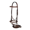 Toklat Passport Plain Raised Bridles with Reins