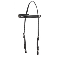 Zilco Deluxe MS Endurance Bridle Part - Full/Oversize - Black