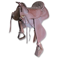 Barefoot Arizona Nut Western Treeless Saddles