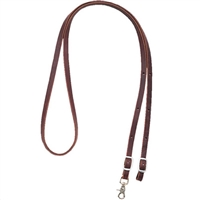 Action Rider Leather Roping Reins