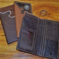 Bronco Roper Medium Leather Wallets