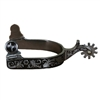 Cactus Saddlery Tooled Mens Spurs