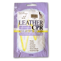 Leather CPR Cleaner And Conditioner - Sample Packets
