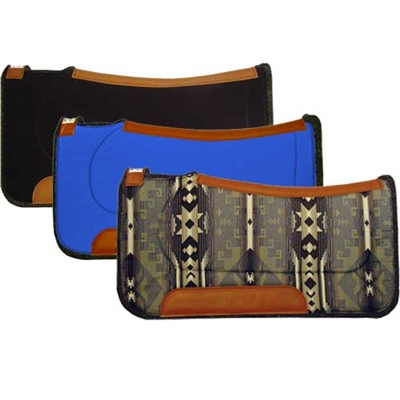 Diamond Wool Western Contoured Ranch Saddle Pads