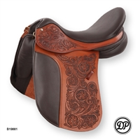 DP Saddlery Maxima Arte Flower Dressage Saddles