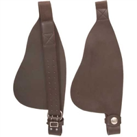 Barefoot Western Leather Fenders