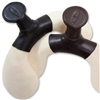 Barefoot Western Treeless Saddle Pommel Inserts with Horn