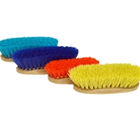 Decker Grip-Fit Synthetic Horse Grooming Brushes - Small