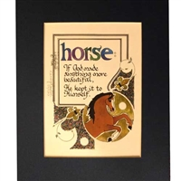 Horse: If God Made Anything More Beatiful Art Prints