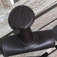 Barefoot Treeless Saddle Horns - Velcro