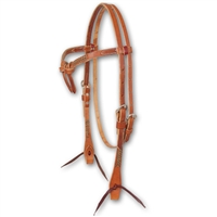 Martin Saddlery Western Spanish Browband Headstalls