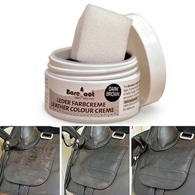 Barefoot Treeless Saddles Leather Color Creams