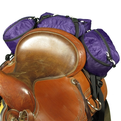EasyCare Stowaway Deluxe Cantle Saddle Bags