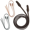 Barefoot Western Open Leather Reins - Quick Change