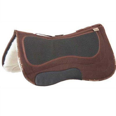 Barefoot Missoula Nut Special Western Saddle Pads