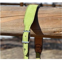 Alamo Saddlery Suede Wither Straps