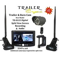 Trailer Eyes TE-0115 Digital Wireless Monitoring Systems