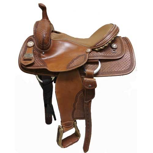 DP Saddlery Double C All Around Western Saddles