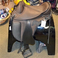 Used Barefoot Tahoe Treeless Saddle - Black & Brown - Size 2
