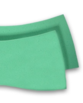 "Viscool Open Cell 1"" Foam Shims"