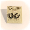 Finishing Touch of Kentucky Horse Shoe Earrings - Antique Finish