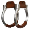"Walls 1"" Oxbow Cast Western Stirrups"
