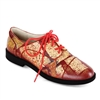 "Angie-462 Golf and Sport Walking Shoe in ""Russian Red' by Yulia Luchkina"