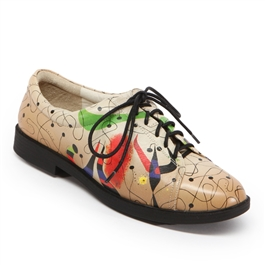 """Night"" Golf Shoe by Joan Miro"