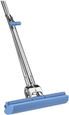 "Vileda 118549 Roll-O-Matic® Original Sponge Roller Mop with Stainless Steel Fixed Handle, 10"" x 48"""
