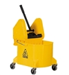 Downpress Wringer and Bucket, 32 Quart Capacity