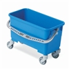 Vileda 149622 Polypropylene Single Bucket Dolly, 22 Liter