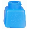 35260 Blue HDPE DurAstatic™ Dissipative Bottle Only, 4oz.