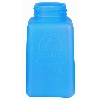 35261 Blue HDPE DurAstatic™ Dissipative Bottle Only, 6oz.