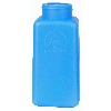 35262 Blue HDPE DurAstatic™ Dissipative Bottle Only, 8oz.
