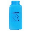 "35263 Blue HDPE DurAstatic™ Dissipative ""Acetone"" Printed Bottle Only, 8oz."