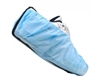 Epic 544673-L Polypropylene Shoe Covers with Conductive Strip, Blue, Large