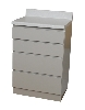 "24"" x 35.875"" x 39.75"" Base Cabinet, Four Drawers"