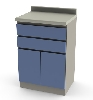 "24"" x 35.875"" x 39.75"" Base Cabinet, Two Drawers/Two Doors"